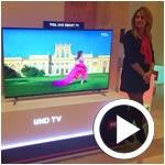 En vidéo : TCL présente la Curved TV, la Smart TV et Ultra HD TV