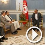 بالفيديو : رئيس الجمهورية يلتقي مجموعة مدينة تونس الاقتصادية