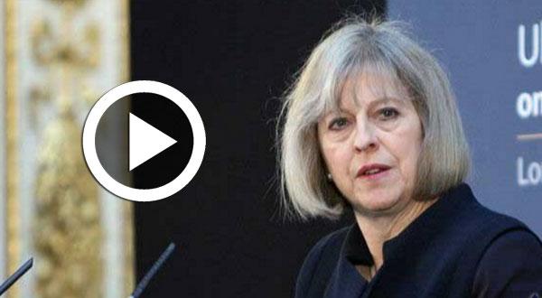 بالفيديو..كلمة رئيسة الوزراء البريطانية اثر هجوم لندن