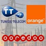 Coupure de courant et si il n'y avait pas Tunisie Telecom, Orange et Ooredoo ?