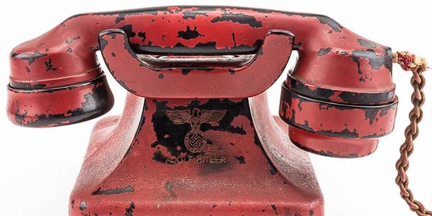 USA: le 'téléphone de la destruction' d'Hitler vendu aux enchères