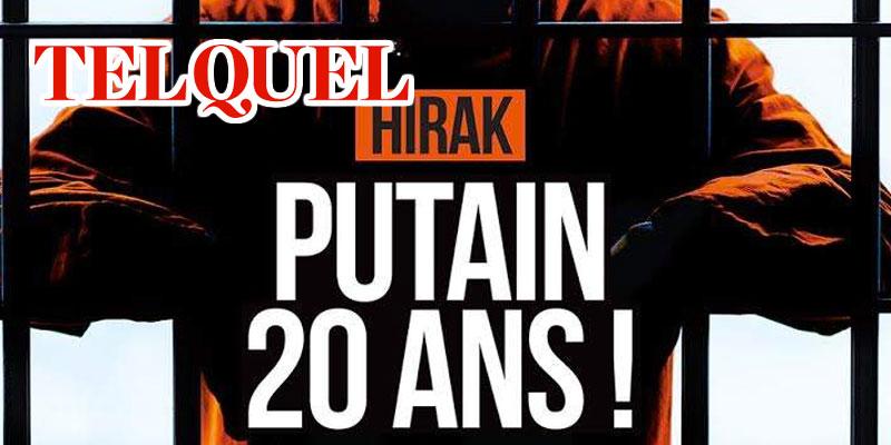 Hirak. Putain, 20 ans, la couverture qui frappe fort au Maroc
