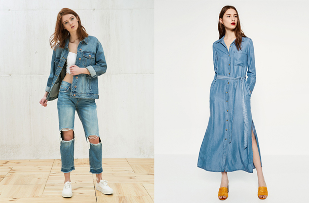 6 tendances denim à shopper dès maintenant...