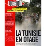Les nouveaux titres de Libération à propos de la Tunisie