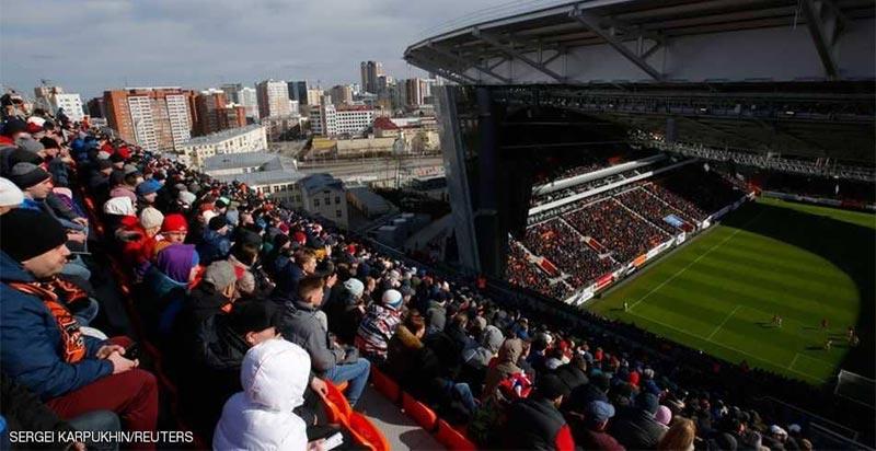 ''الملعب المخيف'' يستضيف مباراة مصر الأولى في المونديال