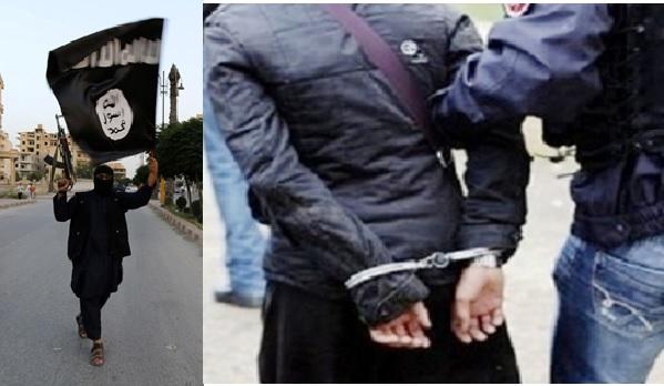 Arrestation d'un homme pour publication de sa photo tenant des armes et un drapeau noir