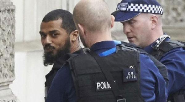 صور مرتكب الاعتداء قرب مقر الحكومة البريطانية
