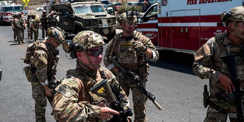 L: Un tireur ''neutralisé'' sur une base militaire