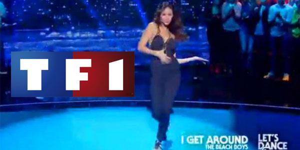 En vidéo : Leila Ben Khelifa enflamme la piste de danse sur TF1