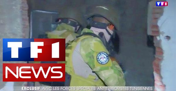 En vidéo : Les unités spéciales de la garde nationale tunisienne sur TF1