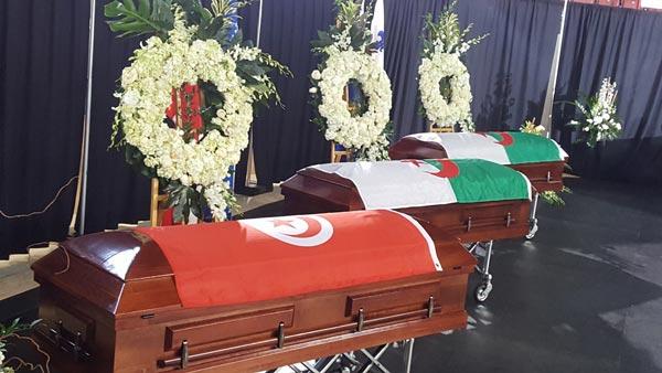 En photos : Le Premier ministre canadien participe aux funérailles du Tunisien Aboubaker Thabti