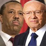 رئيس الحكومة الليبية يهنئ الباجي قائد السبسي