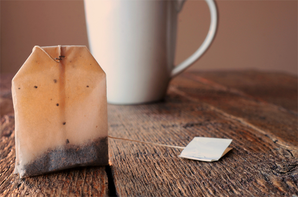 Voici pourquoi il ne faut jamais jeter vos sachets de thé usagés...
