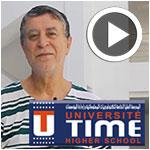En vidéo : Dr. Mohamed DAMAK parle de TIME UNVERSITE, de son Campus et de sa vision