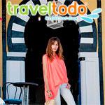 Kenza Fourati ambassadrice de Traveltodo pour la promotion du tourisme Tunisien
