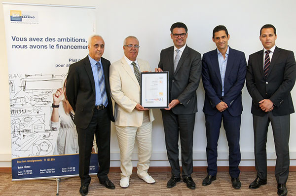 Tunisie Leasing certifé MSI 20000®