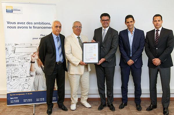 Tunisie Leasing certifé MSI 20000®