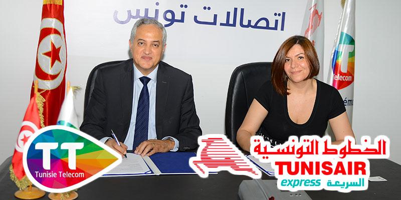 Tunisair Express et Tunisie Telecom, une confiance renouvelée