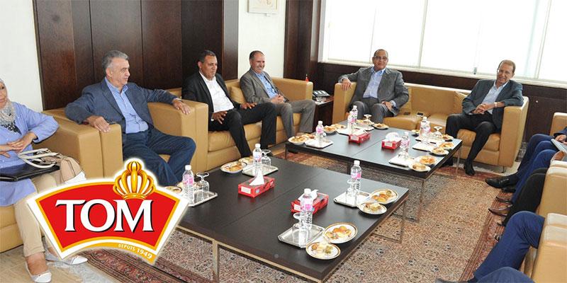 جلسة بين منظّمة الأعراف و المنظمة الشغيلة حول النزاع في شركة لابيتيسنت ''طوم''