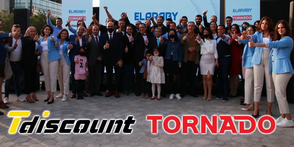 En vidéo : Tdiscount en partenariat avec Tornado, le plus grand store d'électroménager ouvre ses portes à Tunis