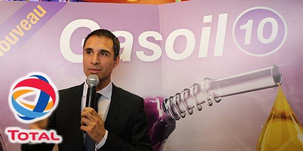 En vidéo : Total lance un nouveau carburant diesel : Le GASOIL 10 ppm