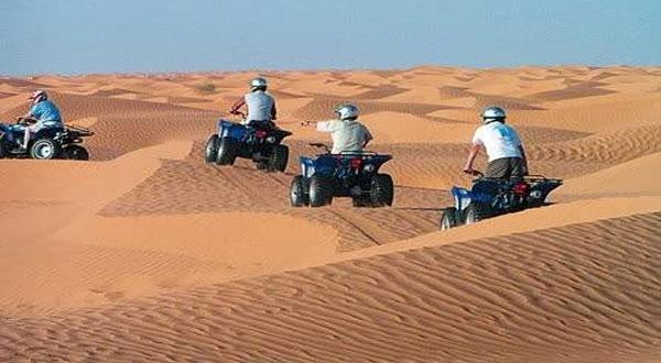 وفد سياحي فرنسي يجوب الصحراء التونسية