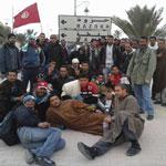 توزر:منع محتجين من الدخول إلى القطر الجزائري