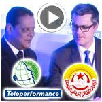 En vidéo : Signature  d'un protocole d'accord entre Teleperformance et l'UGTT