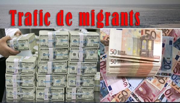 Savez-vous combien de milliards le trafic de migrants rapporte aux criminels ?