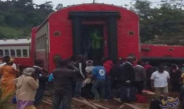 مقتل 55 جراء خروج قطار ركاب عن سكته في الكاميرون