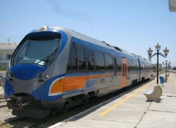 شركة السكك الحديدية : إلغاء بعض السفرات بين سوسة والمنستير