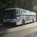 أعوان شركة النقل الحضري و الجهوي ينفذون وقفة إحتجاجية أمام مجلس نواب الشعب