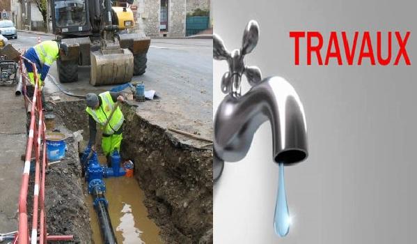 Casse sur le réseau d'eau potable à El Menzah, le rétablissement prévue pour 18h
