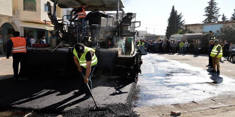 وزير التجهيز والإسكان: قريبا إنهاء مشروع الطرقات البلدية بتكلفة 216 مليون دينار
