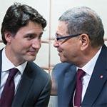 Tous les détails sur la rencontre entre Trudeau et Essid