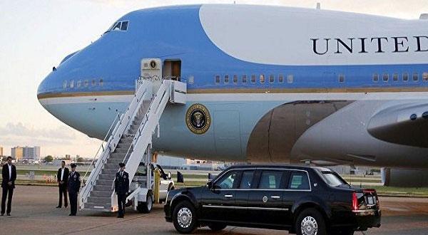 ترمب يغادر واشنطن متوجها إلى السعودية