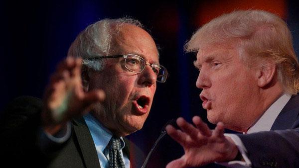 ترامب ينسحب من مناظرة مع ساندرز
