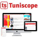 TUNISCOPE.com, innove, se développe et lance sa v3