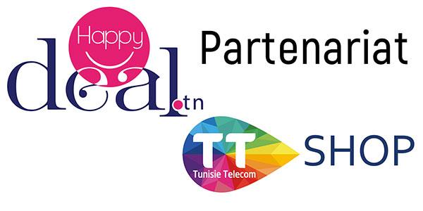 Partenariat stratégique entre HappyDeal.tn et TTshop sur toute la Tunisie