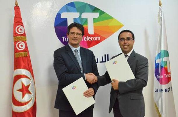 Tunisie Telecom et La Poste Tunisienne  renforcent leur  partenariat
