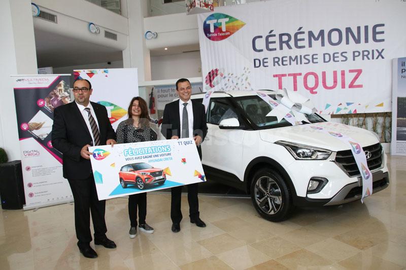 Les gangants de TT Quizz de Tunisie Telecom