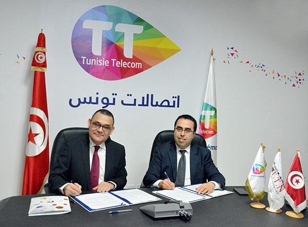 Le Projet Facture Electronique se concrétiseentre Tunisie Telecom et Tunisie TradeNet