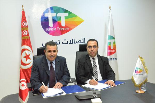 Tunisie Telecom et L'Agence Technique des Transports Terrestres consolident  leur partenariat