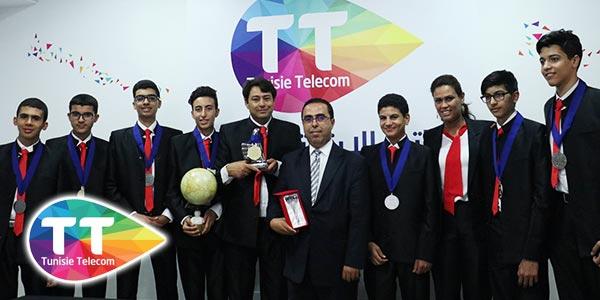 En vidéos : Tunisie Telecom honore L'Association First skills Club