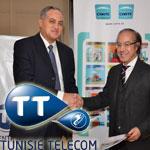 Tunisie Telecom  partenaire  du Groupe Carte