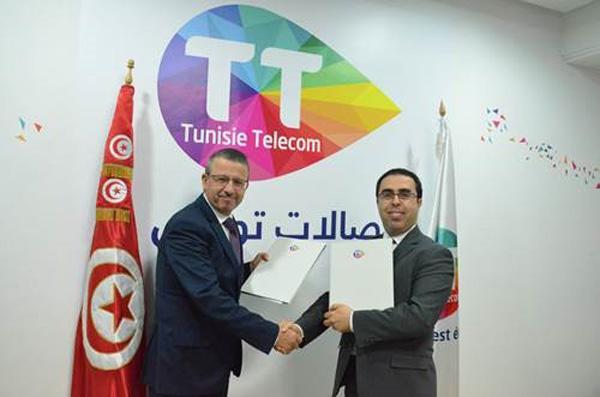 Partenariat  Triennal  entre Tunisie Telecom et la Bourse de Tunis