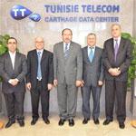 Le Docteur Tawfik JELASSI inaugure le nouveau Data Center de Tunisie Telecom