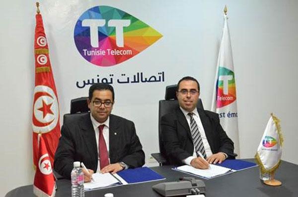 Partenariat  renouvelé  entre  Tunisie  Telecom   et la Mutuelle de la Douane
