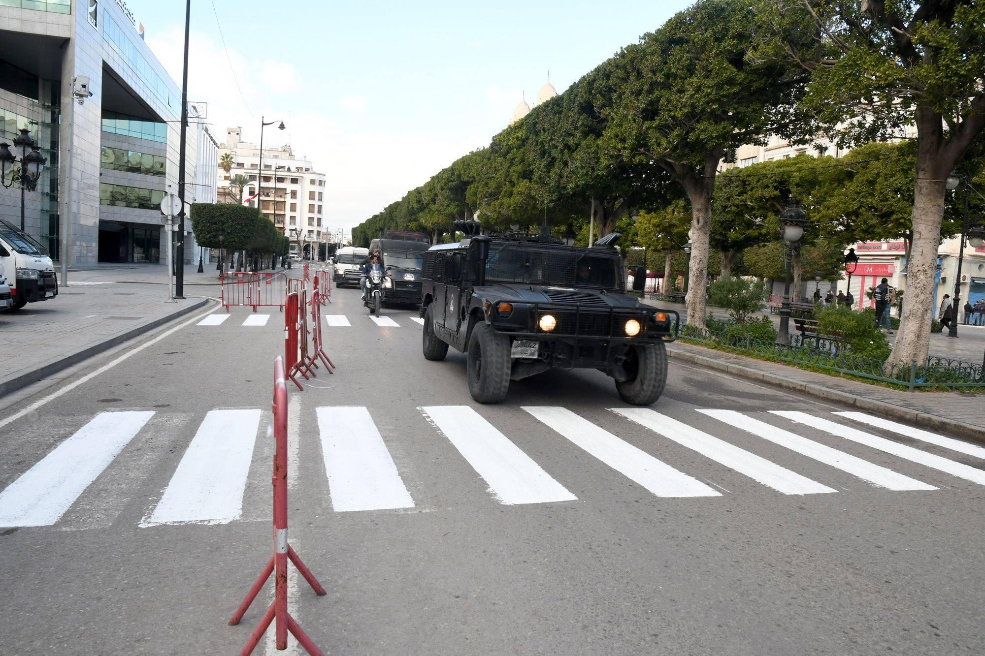 صور: تونس العاصمة في أوّل أيام الحجر الصحي الشامل