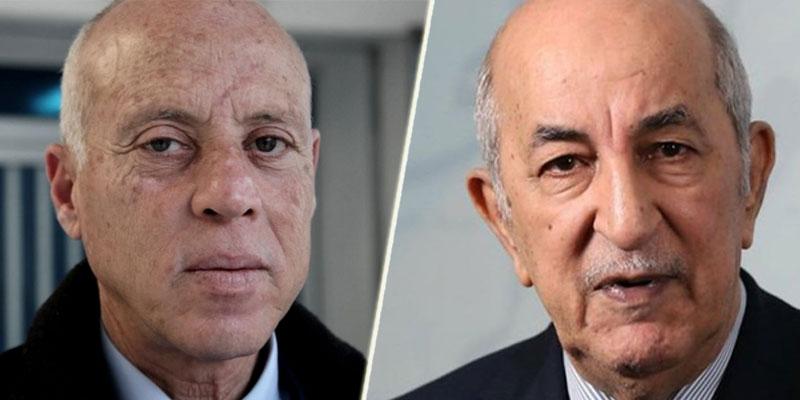 Kaïs Saïed félicite Abdelmadjid Tebboune pour sa victoire à l'élection présidentielle algérienne